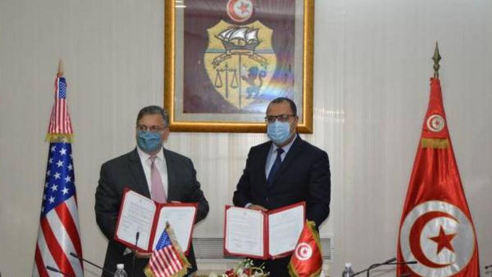 إمضاء مذكرة تفاهم بين تونس والولايات المتحدة الأمريكية