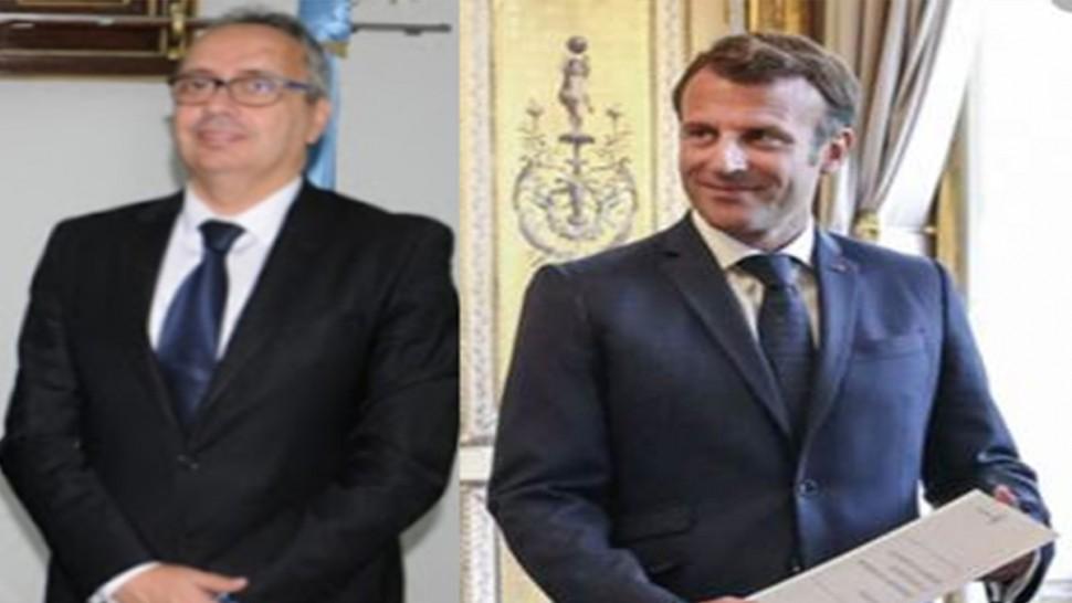 بعد أشهر من تعيينه ...  ماكرون يقبل أوراق اعتماد سفير تونس لدى فرنسا