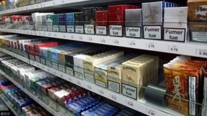 الترخيص للمساحات التجارية الكبرى ببيع السجائر