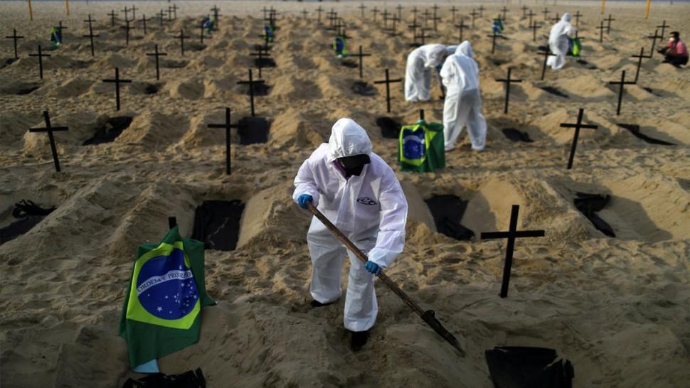 البرازيل والكورونا: 4000 حالة وفاة يومياو 3 وفيات كل دقيقة و 92 سلالة مختلفة