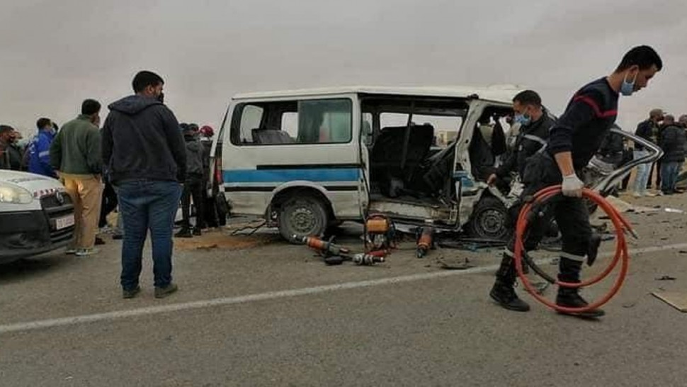عقارب : ارتفاع عدد ضحايا حادث مرور منطقة بولذياب