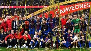 برشلونة يتوّج بلقب كأس ملك اسبانيا