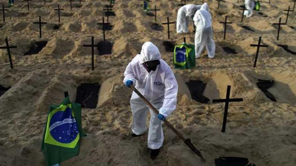البرازيل : كورونا تقتل 2060 طفلا دون سن التاسعة
