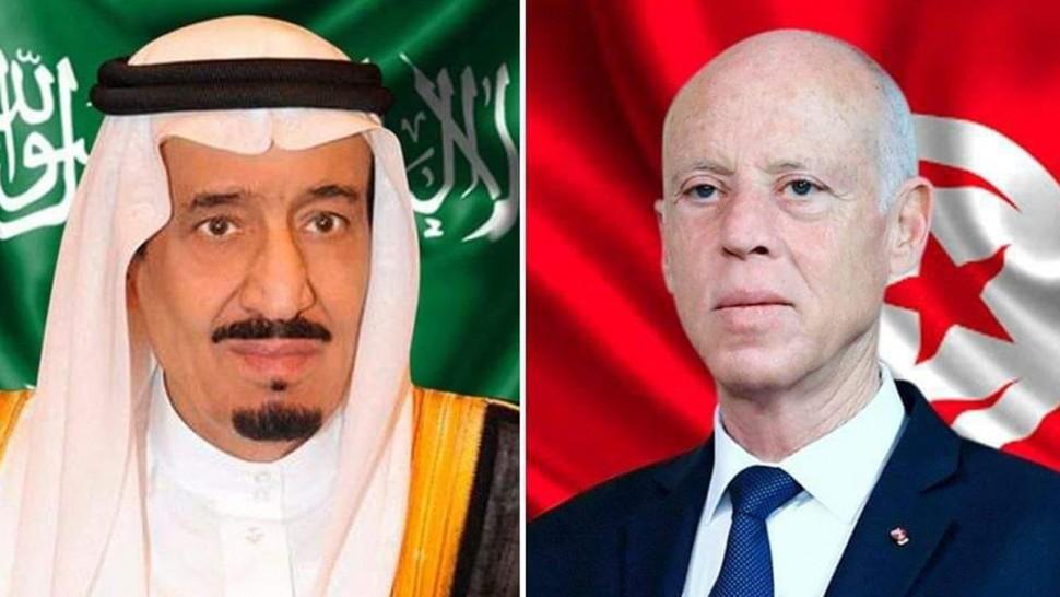 قيس سعيد يتبادل التهاني مع ملك السعودية بمناسبة حلول شهر رمضان