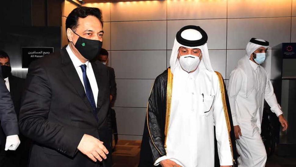 رئيس حكومة تصريف الأعمال اللبناني حسان دياب