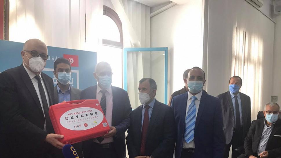 لمجابهة كورونا : وزارة الصحة تتسلم 2000 حقيبة من أجهزة التنفس