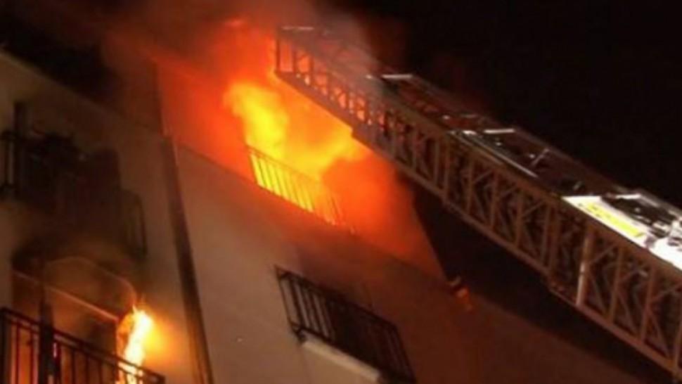 حريق بمستشفى