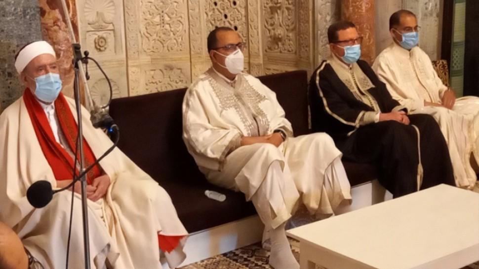 المشيشي يشرف على احياء ذكرى غزوة بدر بجامع عقبة بن نافع بالقيروان