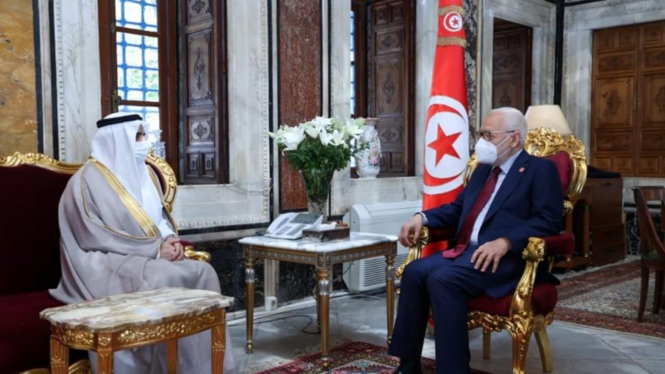 سفير  السعوديّة بتونس للغنوشي : نحن نقف على نفس المسافة من جميع الحساسيات السياسية