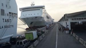 وزارة النقل ،ميناء حلق الوادي