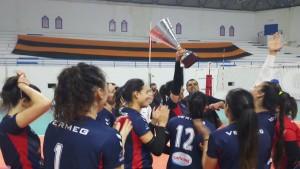 النادي النسائي بقرطاج يفوز بالبطولة الافريقية للكرة الطائرة أمام النادي الصفاقسي