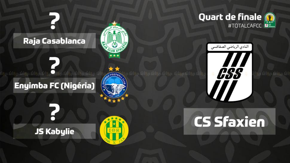 كأس الكاف: أرقام النادي الصفاقسي أمام الفرق المحتمل مواجهتها في ربع النهائي