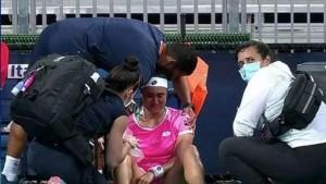 أنس جابر تنسحب من بطولة مدريد للتنس بسبب الإصابة