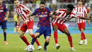قمة مثيرة بين برشلونة و أتلتيكو مدريد
