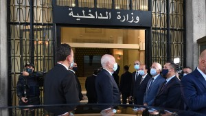 الصور لا تظهر  تواجد رئيس الحكومة ....رئيس الجمهورية في وزارة الداخلية ( صور)