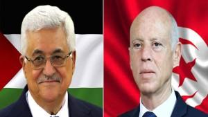 خلال اتّصال هاتفي بالرئيس الفلسطيني ... سعيّد يجدّد التأكيد على موقف تونس الثابت من الحقّ الفلسطيني