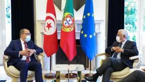 سبل دعم أوروبا لتونس في مجابهة كورونا محور لقاء بين المشيشي ورئيس مجلس الاتحاد الاوروبي