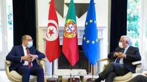 المشيشي خلال لقائه بالوزير الأول البرتغالي: الكورونا أثرت كثيرا على الوضعية الاقتصادية لبلادنا