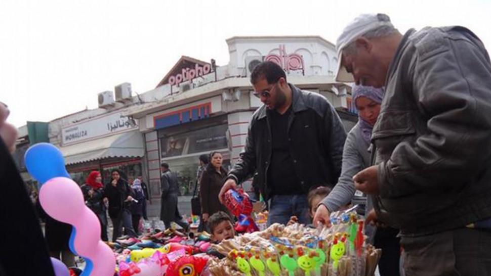 سيدي بوزيد: حركية عادية في ثالث يوم من الحجر الشامل
