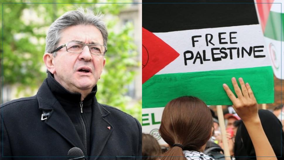 زعيم اليسار الفرنسي : فرنسا الدولة الوحيدة التي تمنع فيها المظاهرات لدعم فلسطين