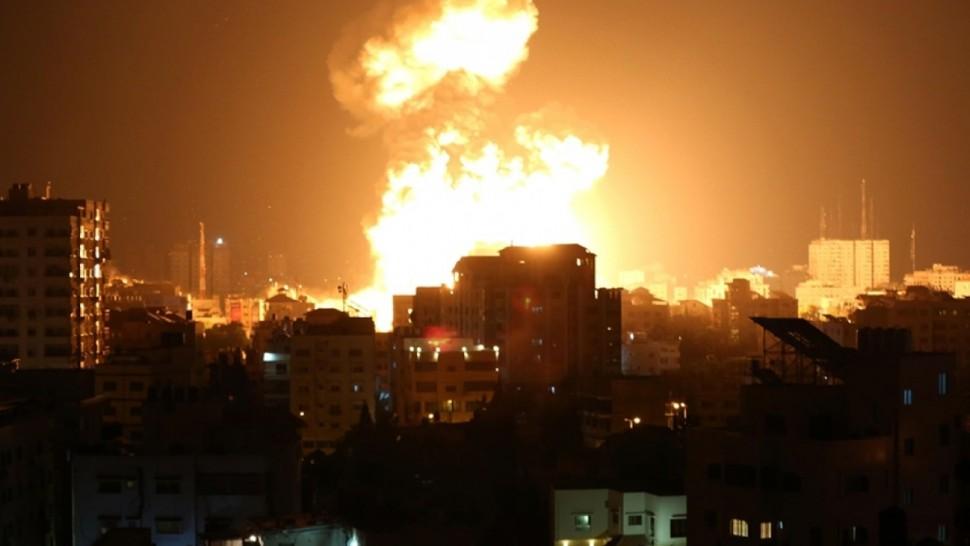 شهداء وجرحى في غارات صهيونية على غزة والمقاومة ترد