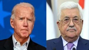جو بايدن يتصل بالرئيس الفلسطيني محمود عباس