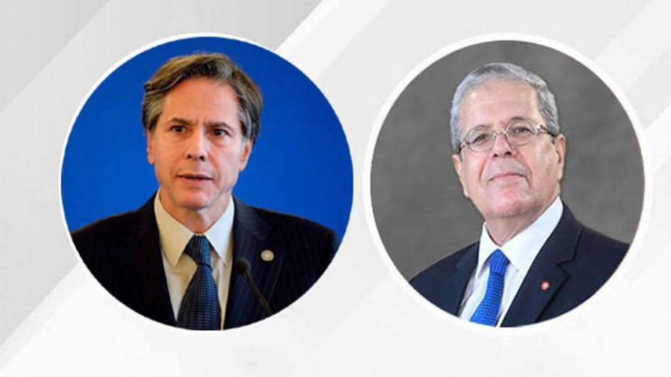 وزير خارجية امريكا يثمّن الدور الايجابي الذي تقوم به تونس داخل مجلس الأمن