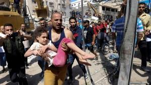 مجزرة عائلة أبو عوف في غزة ... 14 شهيدا في ليلة واحدة (فيديو)