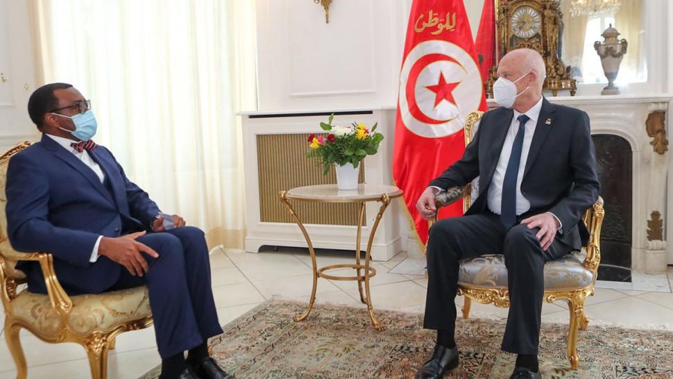 رئيس الجمهورية،قيس سعيد ،باريس ،البنك الافريقي للتنمية