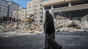 حصيلة الخسائر بقطاع غزة بعد 10 أيام من العدوان الصهيوني