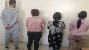القصرين: القبض على شاب و3 فتيات من أجل استهلاك المخدرات وتعاطي البغاء السري