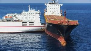 3 قتلى في حادث اصطدام سفينة يابانية بأخرى روسية