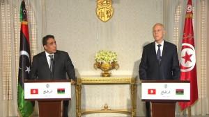 المنفي: سنناقش عديد المسائل التي تخص تونس وليبيا