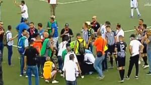الحكم عامر شوشان يوقف مباراة الأولمبي للنقل والنادي الصفاقسي