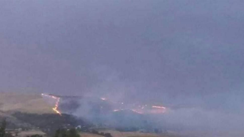 بلطة بوعوان_جندوبة : السيطرة على حريق اندلع على مقربة من منازل المتساكنين