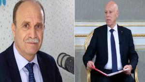 """مهدي مبروك: """"سعيد يريد الفرار لدستور 59 حتى يخرجنا تماما من زمن الثورة"""""""
