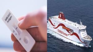 تحاليل كورونا سريعة للمسافرين عند مغادرة تونس عن طريق البحر