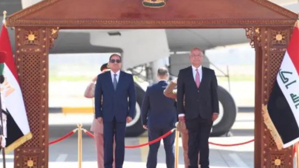 السيسي يصل إلى بغداد في زيارة تاريخية هي الأولى من نوعها منذ 30 عاما