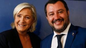 الاعلان عن تحالف يميني في البرلمان الأوروبي