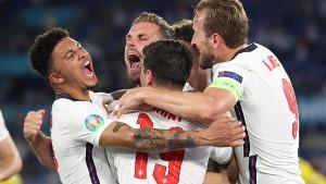 يورو 2020 : إنجلترا تكمل عقد المتأهلين الى نصف النهائي