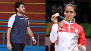 إيناس البوبكري ومهدي بالشيخ يرفعان الراية الوطنية في أولمبياد طوكيو