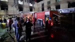 العراق: أكثر من 20 قتيلا في حريق بمستشفى لمصابي كورونا