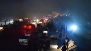 العراق : ارتفاع حصيلة  ضحايا حريق مستشفى المصابين بكورونا الى 92