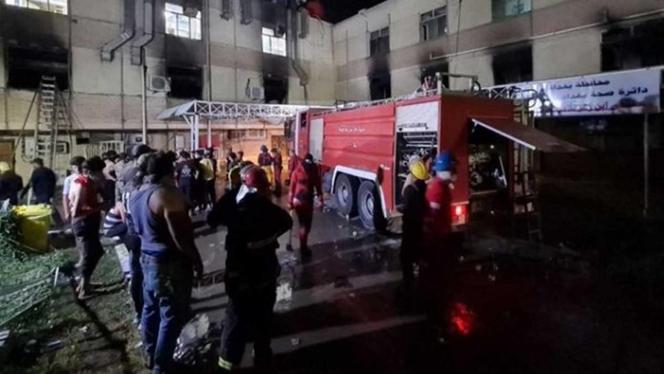 العراق: ارتفاع ضحايا مستشفى المصابين بكورونا إلى 58 شخصا