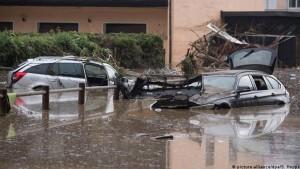 ارتفاع ضحايا الفيضانات في ألمانيا إلى 19 قتيلا