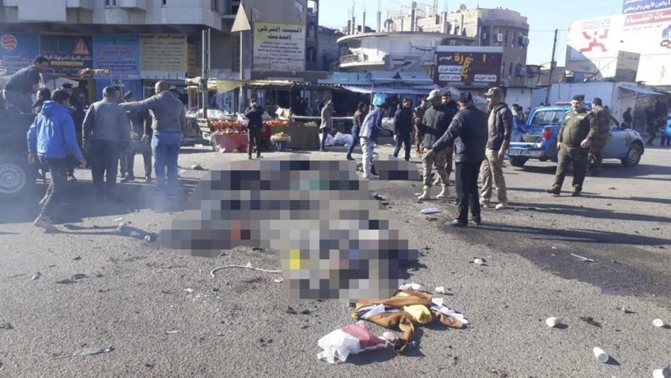 العراق: سقوط 22 قتيلا في انفجار استهدف سوقا مكتظا في بغداد