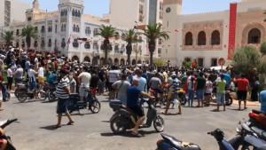 صفاقس : تحرك احتجاجي و مسيرة وسط تواجد أمني مكثف