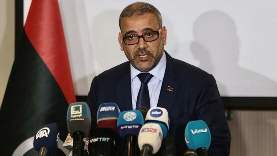"""رئيس المجلس الأعلى للدولة الليبي خالد المشري: نرفض """"الانقلابات"""" على أجسام منتخبة في تونس"""