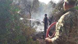 بنزرت : اندلاع حريق بجبل سيدي خلف وحالة استنفار من أجل السيطرة عليه