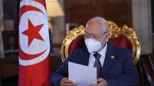 """الغنوشي : """"إذا تواصل الانقلاب فسيٌهاجر أكثر من 500 ألف تونسي لإيطاليا.. وسأحاول الاتصال بسعيّد"""""""